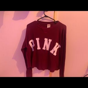 PINK by Victoria secret logo long sleeve